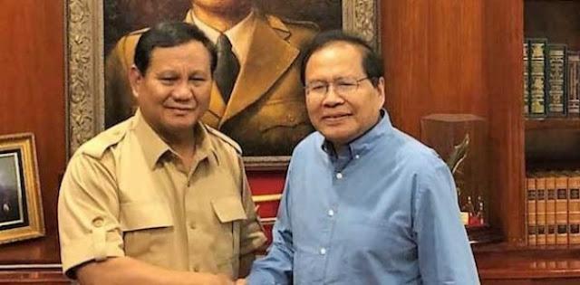 Syarat Rizal Ramli Jadi Menteri, Didorong Prabowo