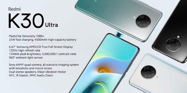 Intip Harga & Spek Xiaomi Redmi K30 Ultra Disini!