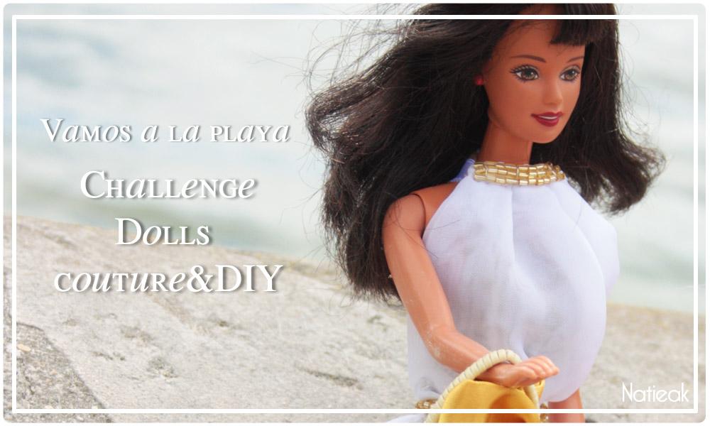 DIY Robe de plage  pour Barbie élégante