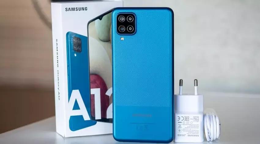 Samsung Galaxy A12, Kutusu ve Şarj Cihazı