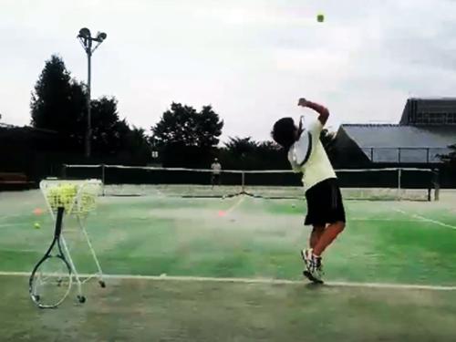 ジュニアのテニスはサーブゲームのキープが肝