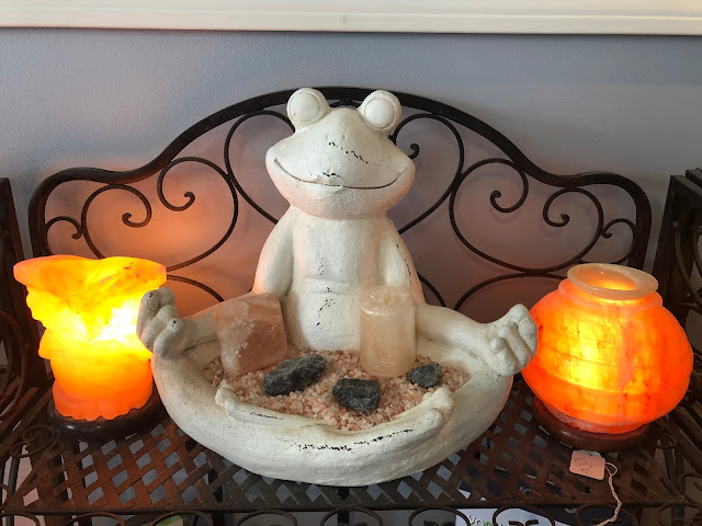 At peace at North Shore Salt Therapy Center in Highland Park, Illinois