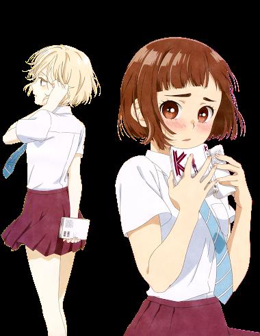 [Render157] Niina Sugawara x Kasuza Onodera by Edgina36