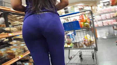 Video chica hermosa leggins marca calzon