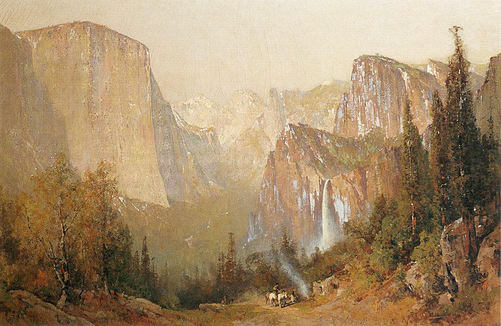 19th Century American Paintings Thomas Hill Ctd