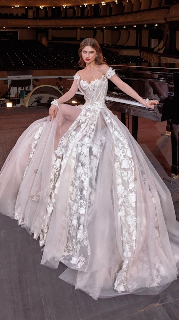 K'Mich Weddings - wedding planning - white wedding dresses - gaga - galia lahav-fall-2019