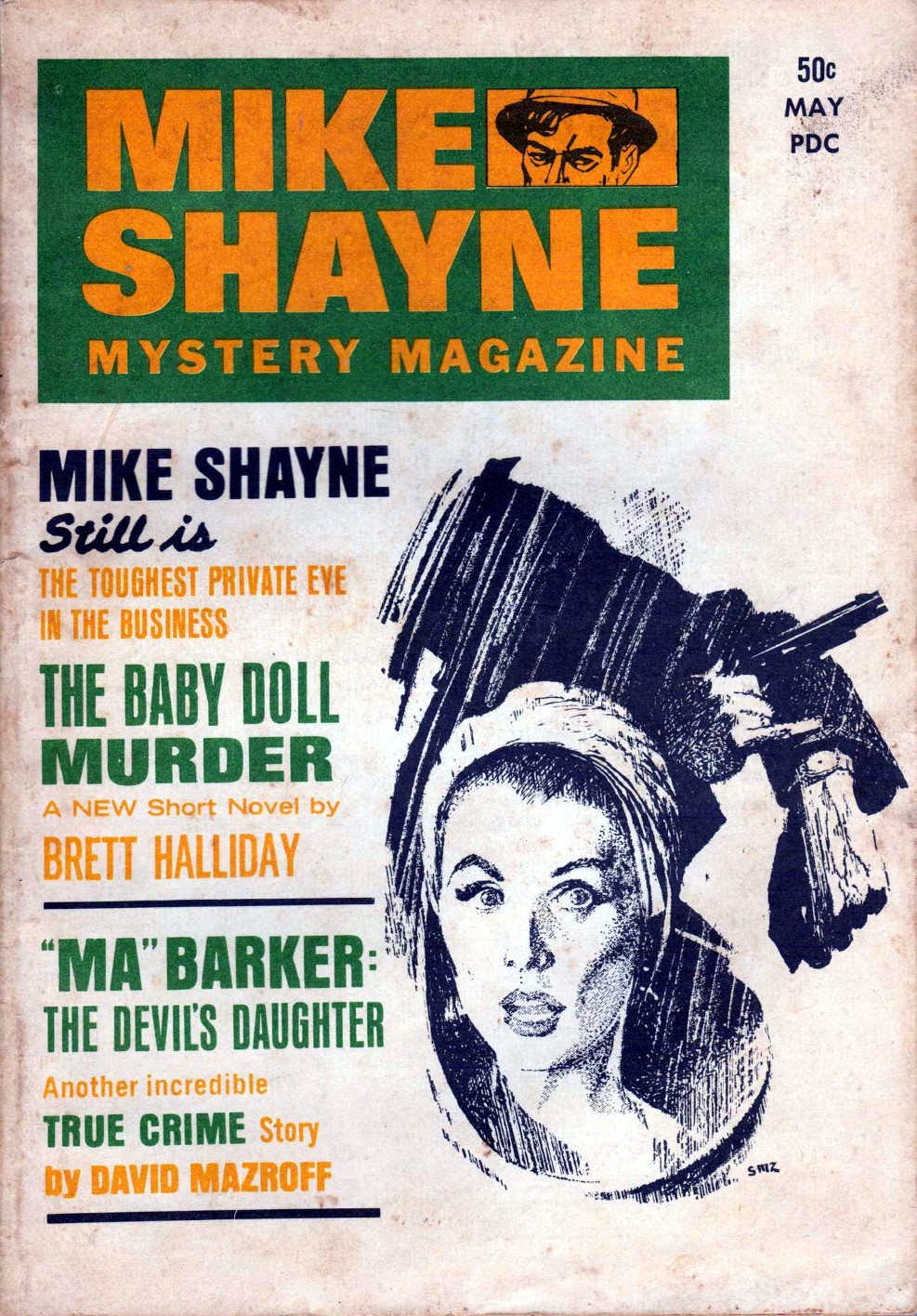 Rough edges february 2013 forgotten books mike shayne mystery magazine may 1968 fandeluxe Choice Image