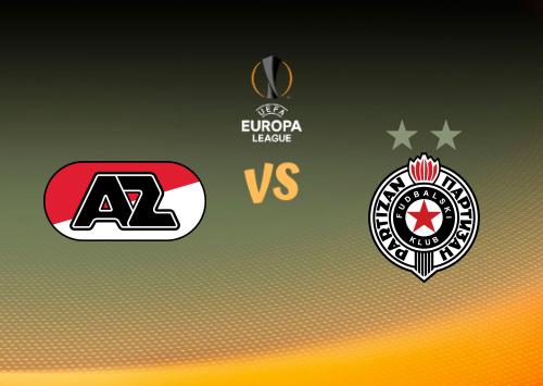 AZ Alkmaar vs Partizan  Resumen