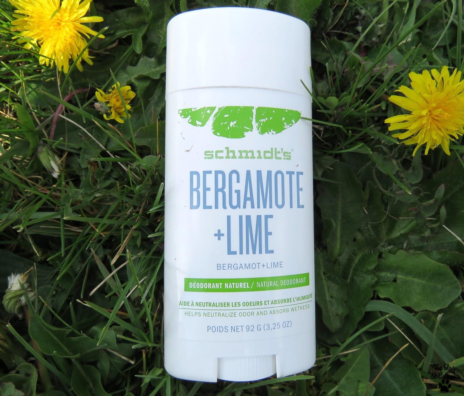 Bergamote + Lime Déodorant Schmidt's