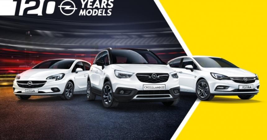 Διαφημιστική καμπάνια για τα 120 χρόνια στην παραγωγή αυτοκινήτων Opel