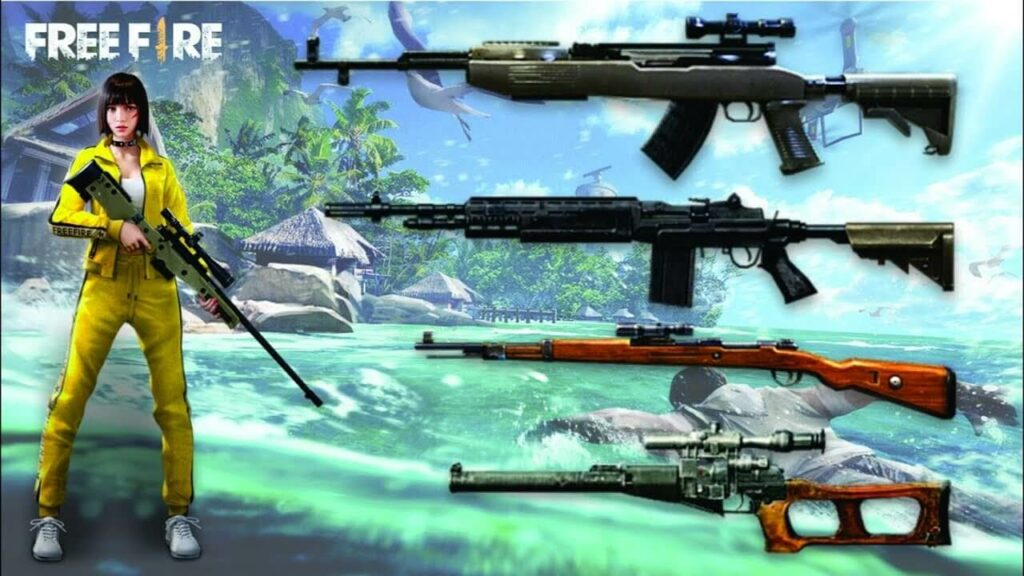 weapons Combination In Garena Free Fire