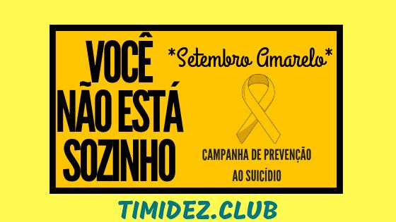 AÇÕES PARA SALVAR VIDAS - SETEMBRO AMARELO