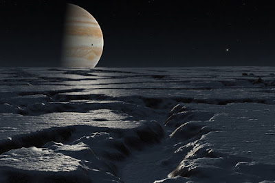 Europa is the Moon of Jupiter with Aliens on it.