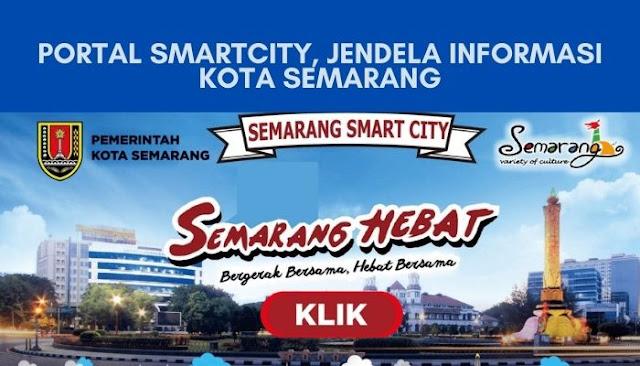 Banner Portal Smartcity, jendela informasi kota semarang