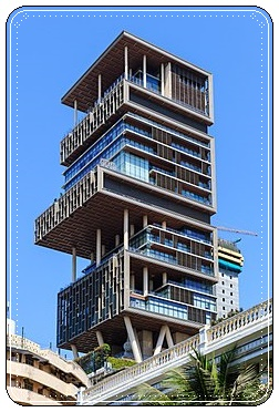 Antilia-Mumbai- India