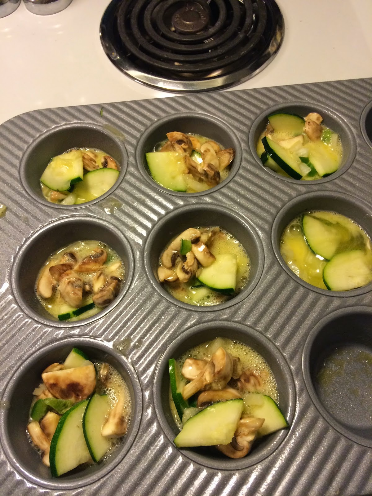 Egg Muffin with veggies, becoming your personal best healthy breakfast