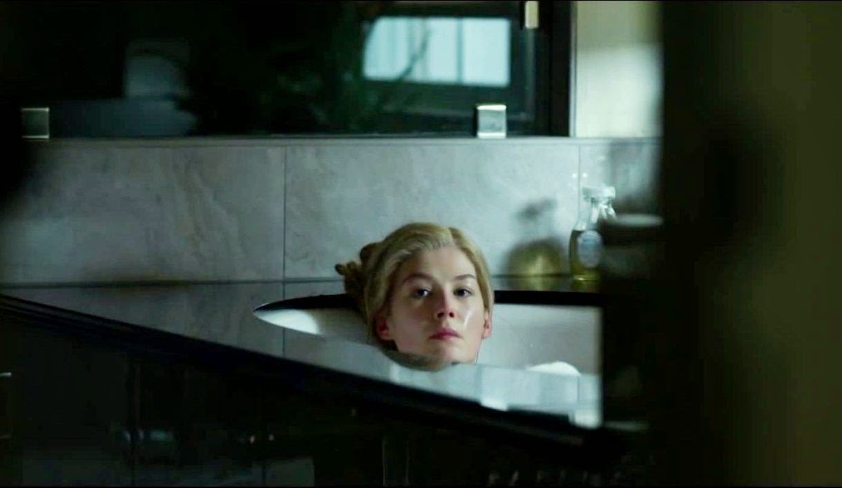Rosamund Pike as Amy Dunne in Gone Girl, Directed by David Fincher