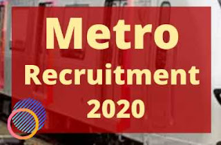 Sarkari Naukri Railway: CMRL Recruitment 2020 Apply For Chief General Manager / General Manager posts