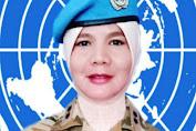 Revilla Oulina, Perempuan Minang asal Pariaman yang Jadi Komandan Pasukan PBB di Afrika
