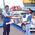 Undian Sikoci Bank Nagari Bertabur hadiah,Nasabah Tanah Abang Raih Hadiah Utama Honda HRV