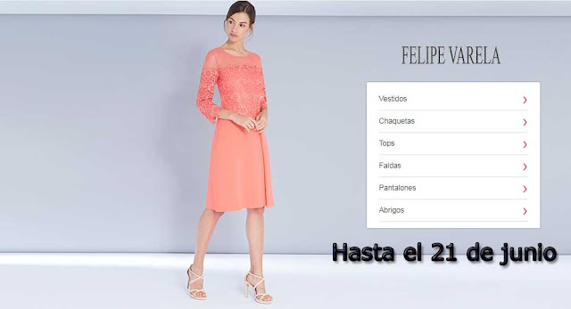 ropa de Felipe Varela barata