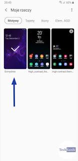 Samsung Domyślny Motyw