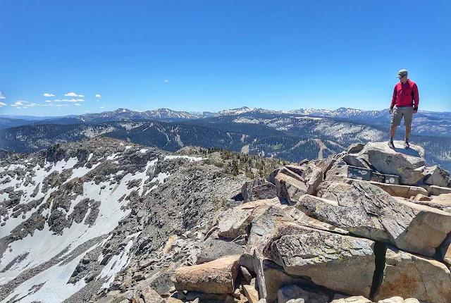 summit registers on Ralston Peak