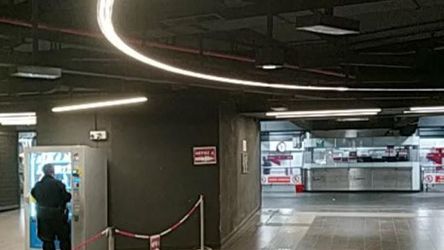 Riaperto il corridoio di scambio a San Giovanni