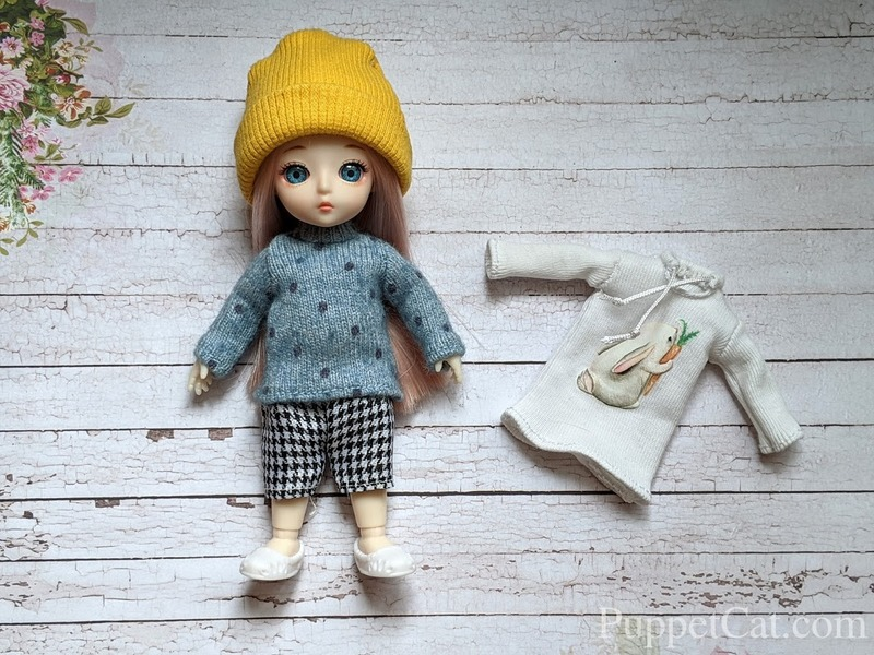 sweater for baboliy doll