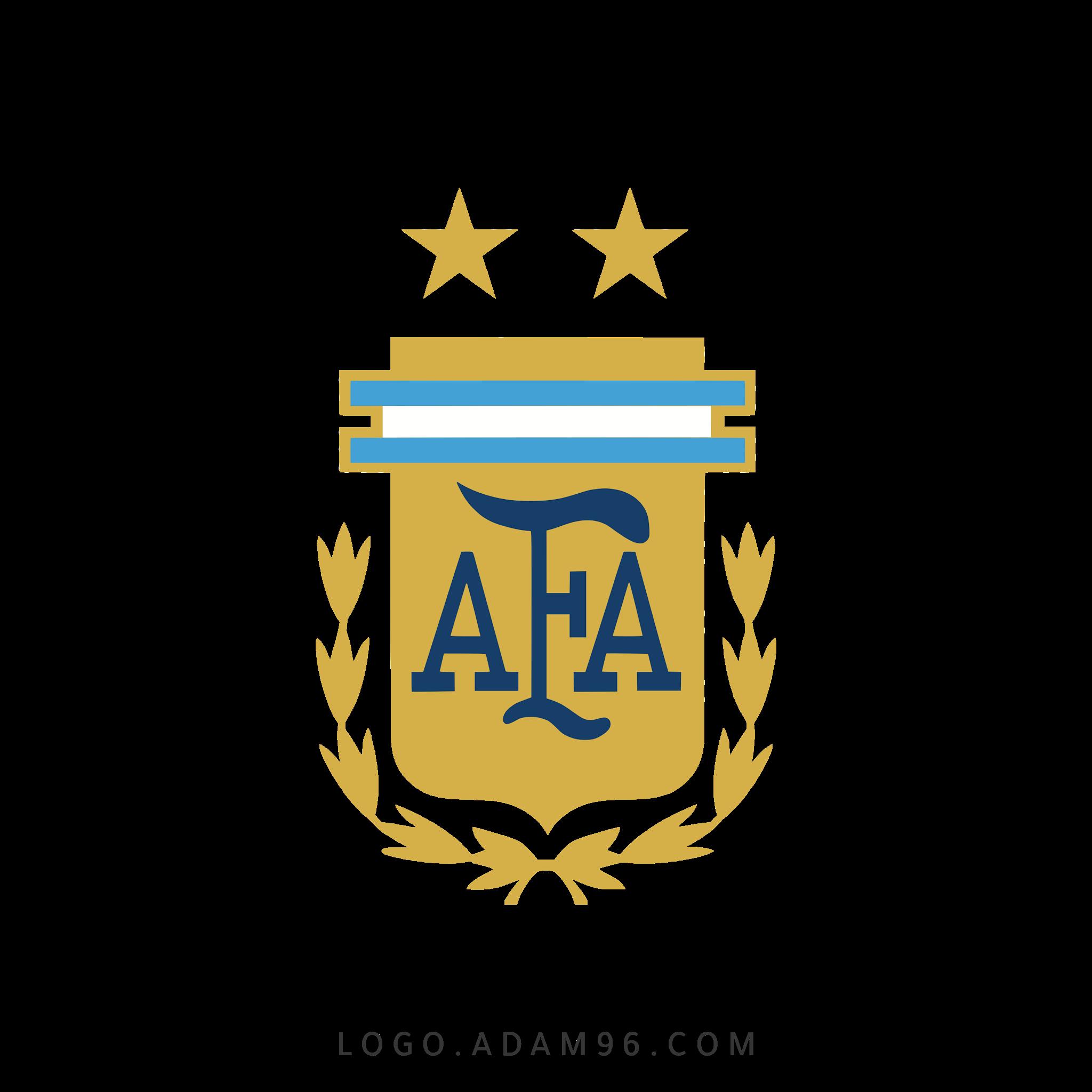 تحميل شعار منتخب الأرجنتين لكرة القدم لوجو رسمي بصيغة شفافة PNG