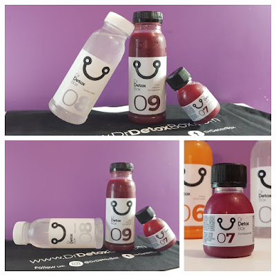 Box Détox 9 Jus de Fruits - DrDetoxBox