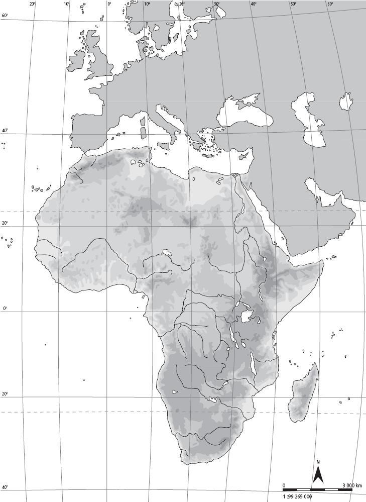 Mapa Mudo Fisico Africa Imprimir.Recursos De Geografia E Historia Atlas Coleccion De Mapas