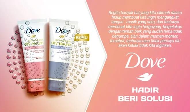 Solusi Bau Badan dari Dove