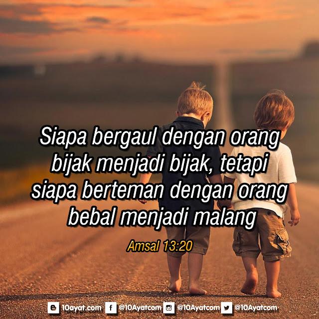 Amsal 13:20