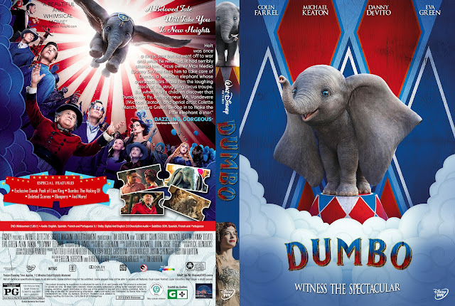 Dumbo DVD Cover DVD Cover