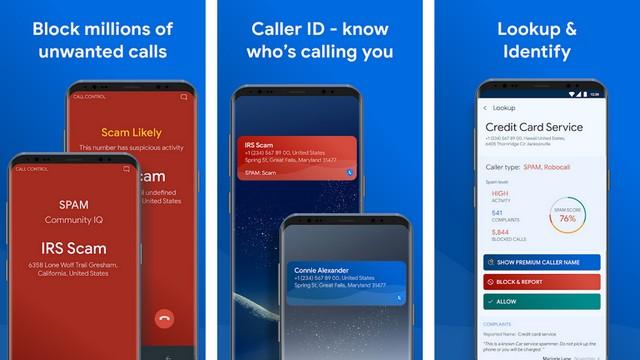 تطبيق حظر المكالمات