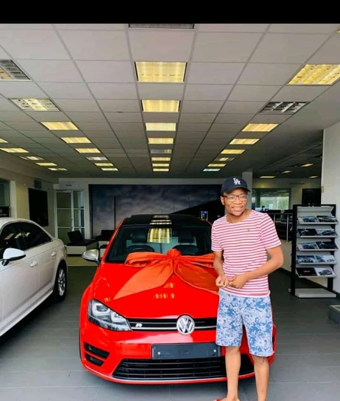 HOUSE DJ and producer Master KG bought himself a birthday gift Volkswagen Golf GTI while his girlfriend Makhadzi still hasn't been paid by manager