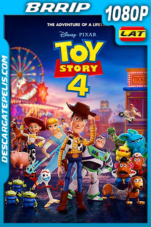 Toy Story 4 (2019) HD 1080p BRRip Latino – Ingles