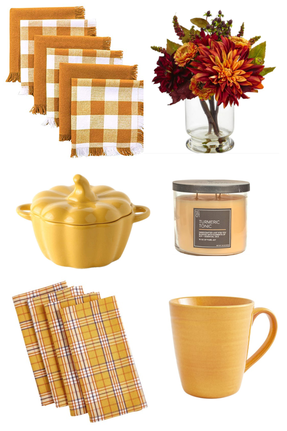 Turmeric Fall Tableware