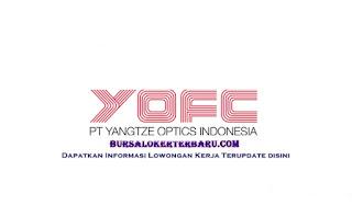 Lowongan Kerja PT Yangtze Optics Indonesia