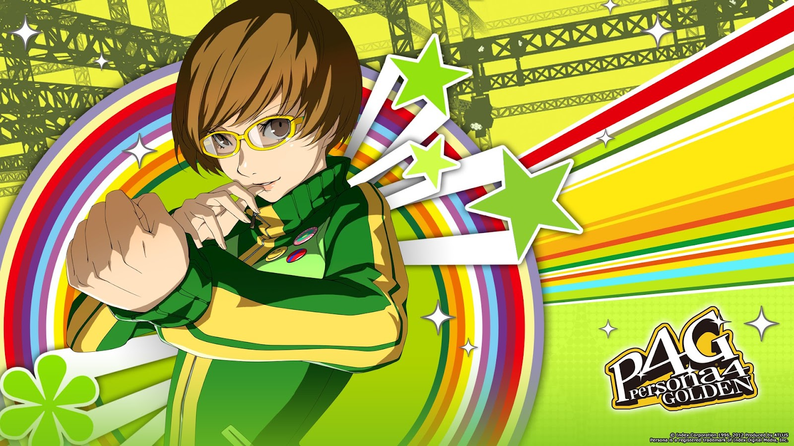 P4g Fightvg Quick Pic Persona 4 Golden Chie Satonaka Wallpaper