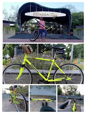 sepeda taman kaya indonesia semarang