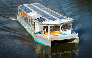 Solar ferry boat