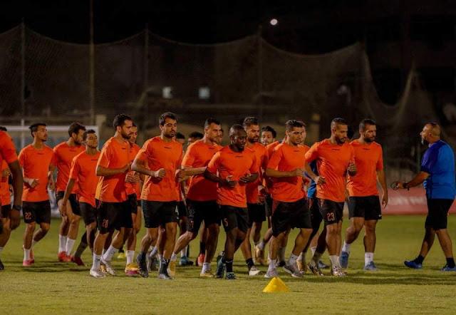 عودة فريق البنك الأهلي للتدريبات استعدادا للأهلي