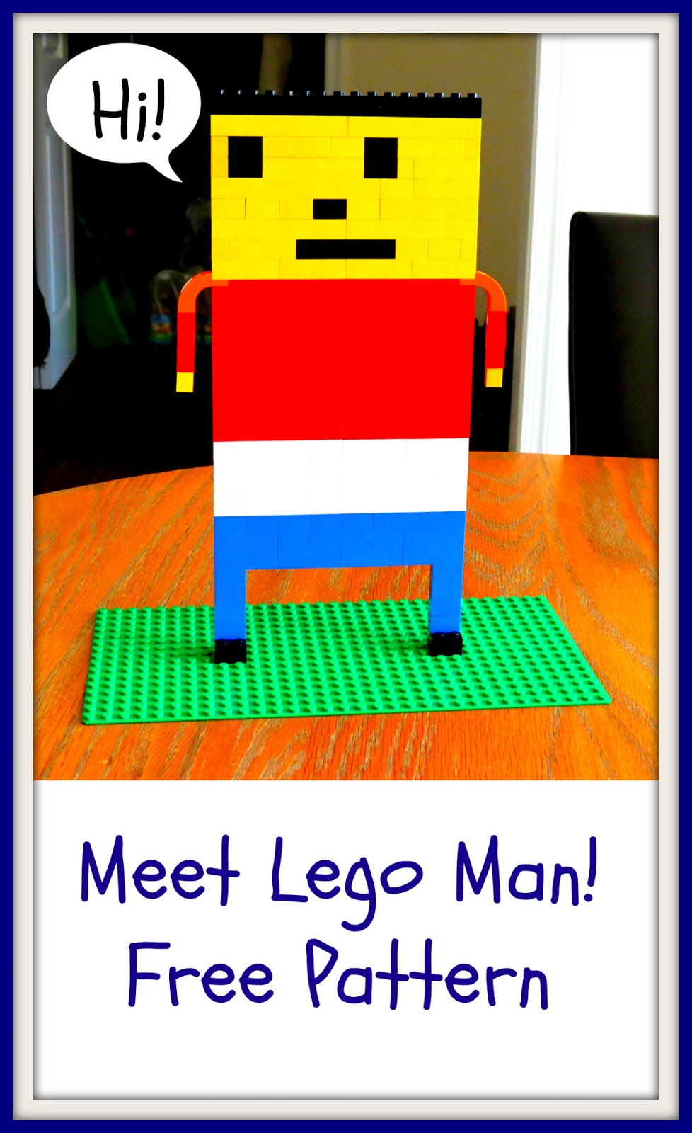 Make Your Own Lego Man 15