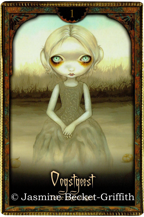 Oracle of Shadows and Light, Lucy Cavendish, Jasmine Becket Griffith, Ghost of the Pumpkin Patch – Count your Blessings