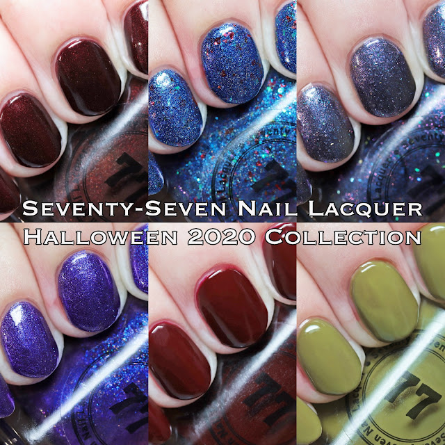 Seventy-Seven Nail Lacquer Halloween 2020 Collection