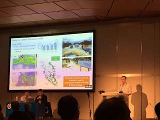 Jack presenting in the limnogeology session at EGU.