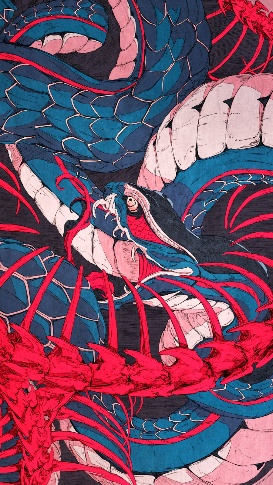 Snake aesthetic phone wallpaper hd