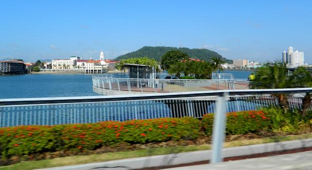 Cinta Costera, Cidade do Panamá